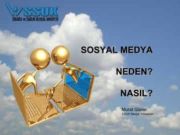 Sosyal medya, neden? Nasıl?, Murat GÜNER