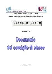 VDdoc 15 maggiodef1.pdf - Liceo Norberto Rosa