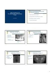 1 Hvad almindelige praktiserende tandlæger støder på Opklaring ...