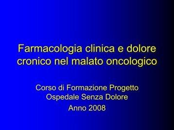 Farmacologia_Clinica_Corso_OSD_Basi_2008 - Istituto Europeo di ...