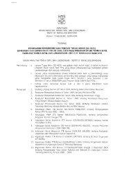 keputusan dekan fakultas teknik sipil dan lingkungan ... - FTSL-ITB
