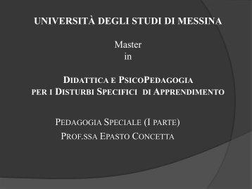 EPASTO_CONCETTA_-_PEDAGOGIA_SPECIALE_ ... - Dislessia
