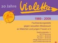 20 Jahre Violetta