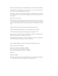 The Project Gutenberg Etext of the Iliad of - Stanford Exploration ...