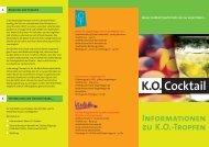 Flyer K.O. Tropfen - Violetta