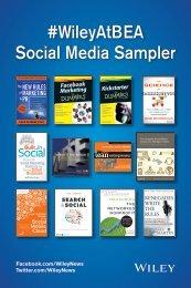 #WileyAtBEA Social Media Sampler