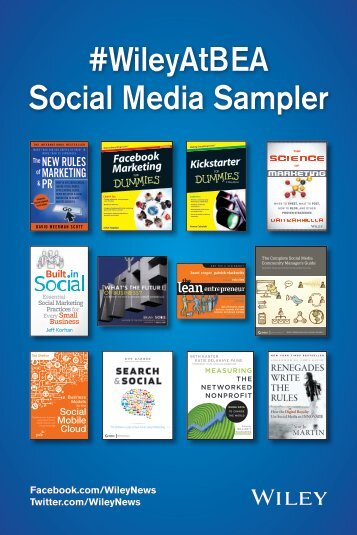 #WileyAtBEA Social Media Sampler