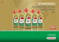 schmierindex - The Home of Castrol Motorcycle Oil