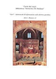 Alert - n. 12/2013 - Biblioteca Antonino de Stefano della Corte dei ...