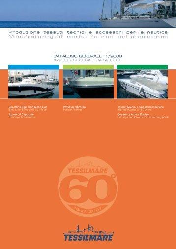 Catalogo tessuti nautici - Silvermare