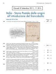 Italia - Storia Postale dalle origini all'introduzione del francobollo