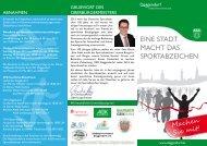 EINE STADT MACHT DAS SPORTABZEICHEN - Deggendorf