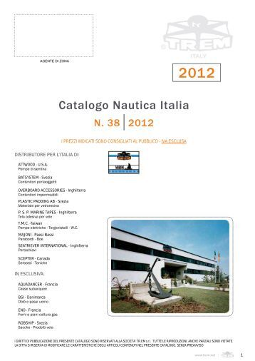 Catalogo Nautica Italia - nauticaefishing.it
