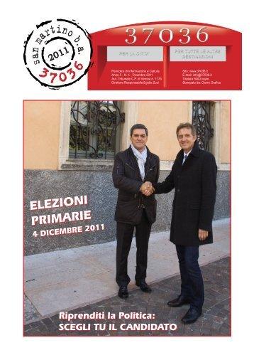 ELEZIONI PRIMARIE ELEZIONI PRIMARIE - Associazione 37036