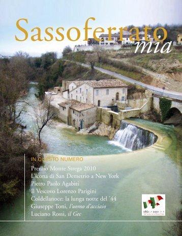 Premio Monte Strega 2010 L'icona di San ... - SassoferratoMia