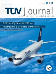 Scarica il TÜV Journal 3 del 2005 - Tuv Italia