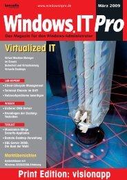 Virtualized IT Virtualized IT - visionapp