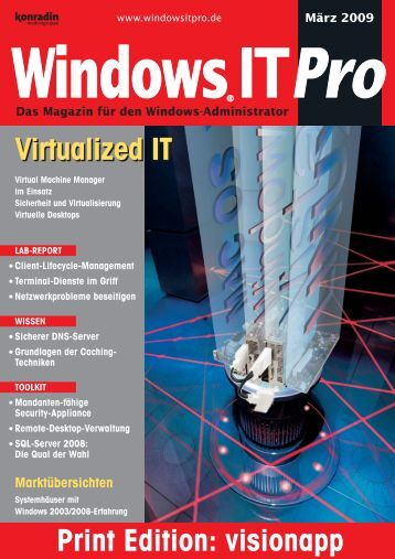 Virtualized IT Virtualized IT - visionapp