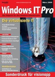 Die virtualisierte IT Die virtualisierte IT - visionapp