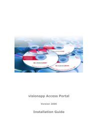 visionapp Access Portal Installation Guide