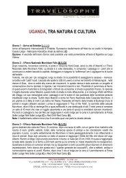 uganda, tra natura e cultura - Travelosophy
