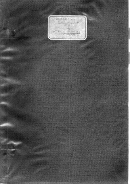 il catalogo degli animali - Collegio San Luigi