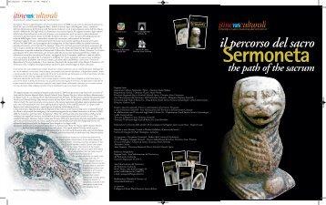 Scarica l'itinerario di Sermoneta - Il percorso del sacro - Cultura Lazio