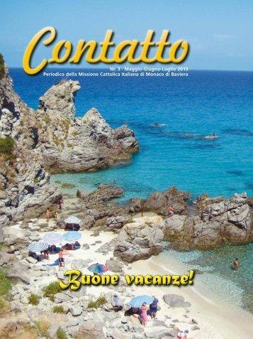 Buone vacanze! - Missione Cattolica Italiana di Monaco