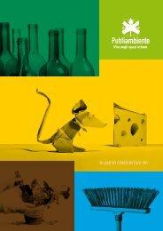 BILANCIO CONSUNTIVO 2011 - Publiambiente SpA