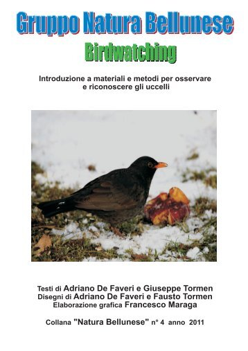 Manuale BW.cdr - Gruppo Natura Bellunese