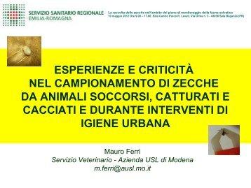 M. Ferri - Alimenti & Salute