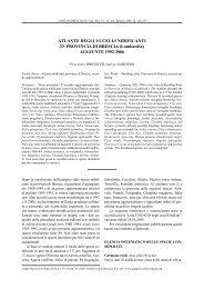 ATLANTE DEGLI UCCELLI NIDIFICANTI IN PROVINCIA DI ... - Aves.it