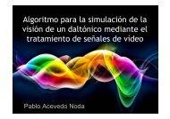 Algoritmo para la simulación de la visión de un daltónico ... - RUA