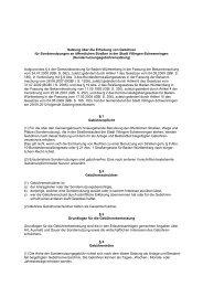 Satzung über die Erhebung von Gebühren für Sondernutzungen an ...