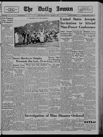 Daily Iowan (Iowa City, Iowa), 1937-10-17 - The Daily Iowan Historic ...