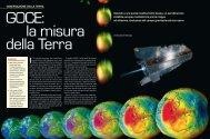 """pdf da rivista """"Le Scienze"""" - GOCE Italy"""