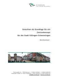 Berichtsentwurf EHK Villingen Schwenningen