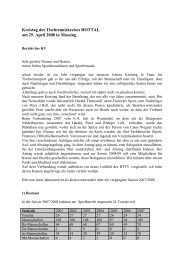 Bericht KV - Vilstal.Net
