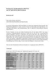 Bericht des Kreisvors. zum Kreistag 2010 - Vilstal.Net
