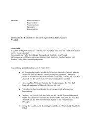 Protokoll - Vilstal.Net