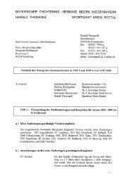 Protokoll Sportwart - Vilstal.Net