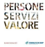 BILANCIO SOCIALE 2011 - Manutencoop