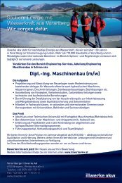 Dipl.-Ing. Maschinenbau (m/w)