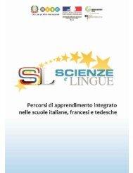 Percorsi di apprendimento integrato nelle scuole italiane