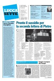Pronto il sussidio per la seconda lettera di Pietro - Arcidiocesi di Lucca