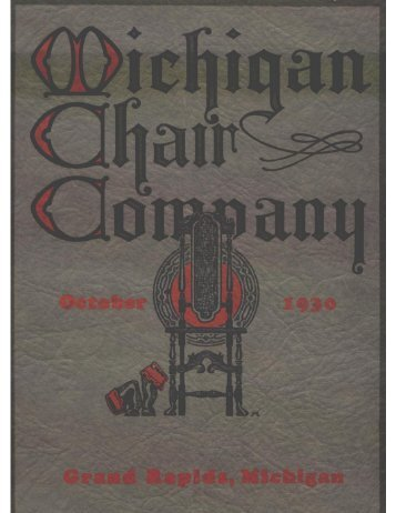 Full page photo - michigan chair company