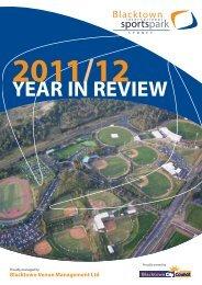 2011/2012 Year In Review - Blacktown International Sportspark