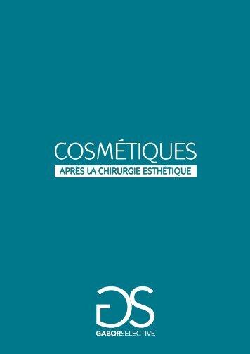 COSMETIQUES APRES LA CHIRURGIE ... - Gabor Selective
