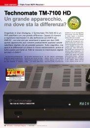 Technomate TM-7100 HD - TELE-satellite International Magazine
