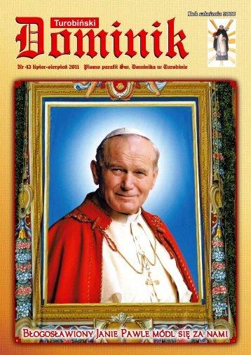 lipiec-sierpień - Parafia Rzymskokatolicka pw Św. Dominika w ...